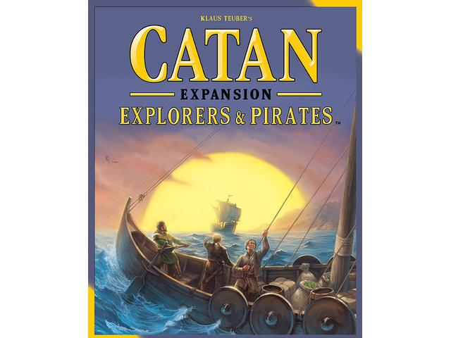 Catan: Explorers & Pirates + extension 5-6 joueurs