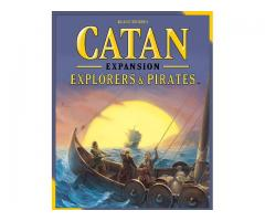 Catan: Explorers & Pirates + extension 5-6 joueurs