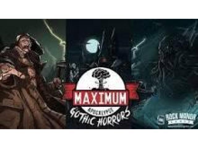 Maximum apocalypse (extension: Gothic Horrors )
